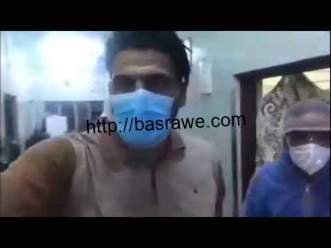 """جولة في مستشفى مرجان في """"مدينة الحلة"""" حيث اكتضاظ المستشفى بمئات المصابين بفيروس كورونا"""
