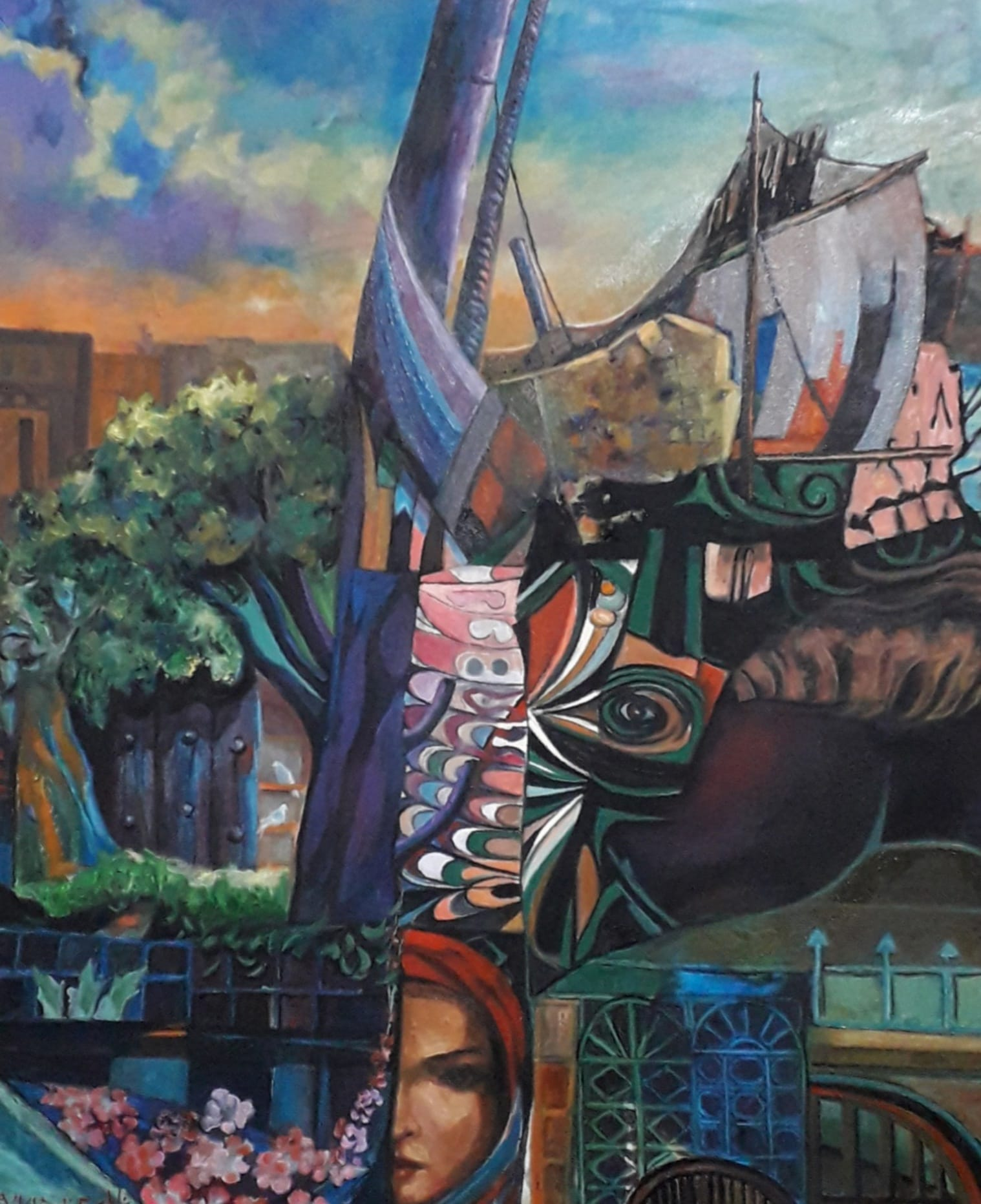 الفنان التشكيلي العراقي . ناطق عزيز
