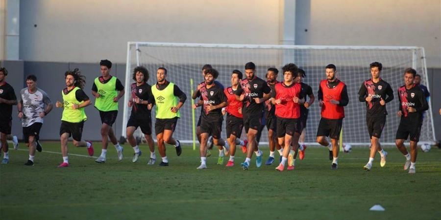 اسود الرافدين يخوضون اولى الوحدات التدريبية في دبي