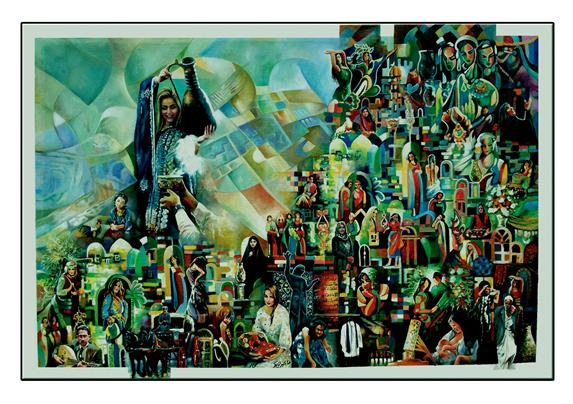 الفنان العراقي عبد الامير المالكي