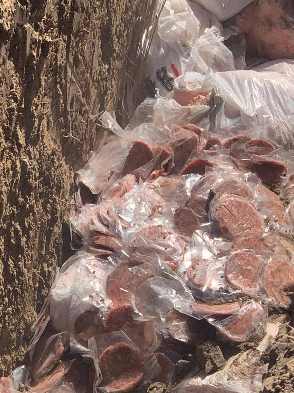 ضبط معمل للتجهيزات الغذائية في منطقة ابو غريب يقوم بانتاج ال (همبركر) غير صالح للاستهلاك
